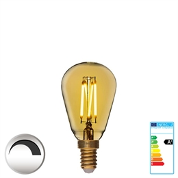 E14 1,5W Mini LED  <br> 90 Ra 1,5W Flame MiniEdison