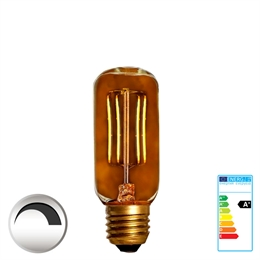 E27 Fadpære LED  <br> 90 Ra 2,5W Flame