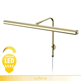 GALLERY <br> LED dæmpbar - messing 60 cm